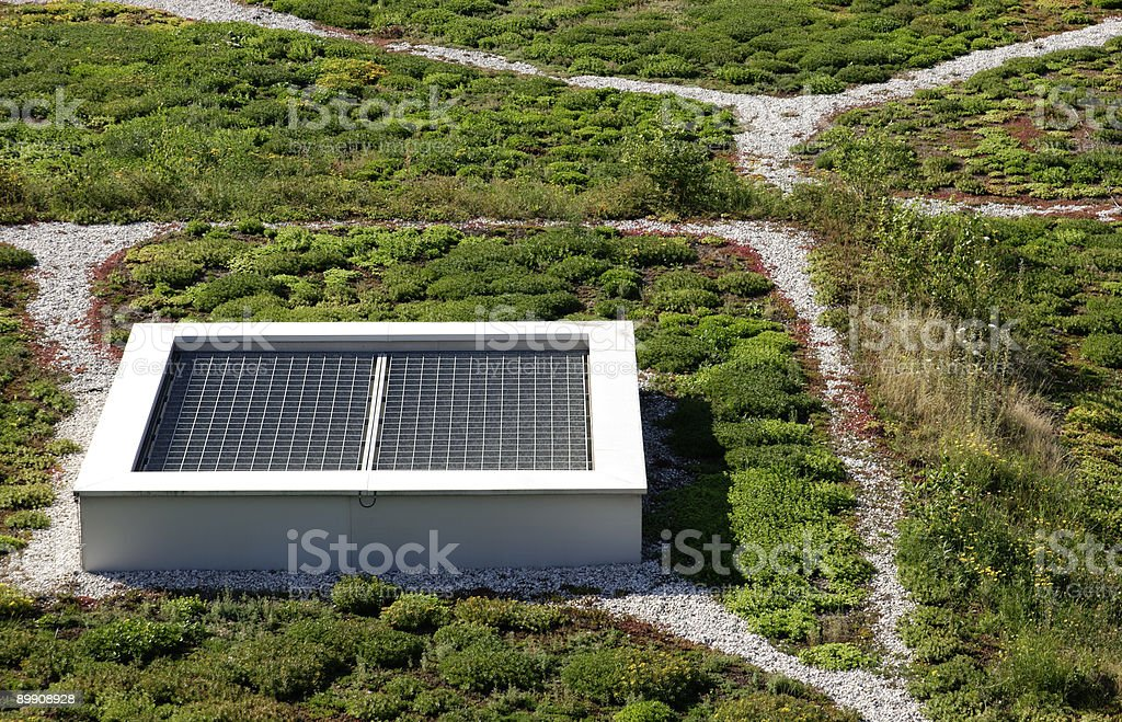 roof garden royalty-free stock photo