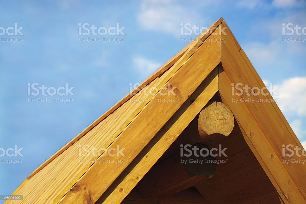 Roof House royalty-free stock photo