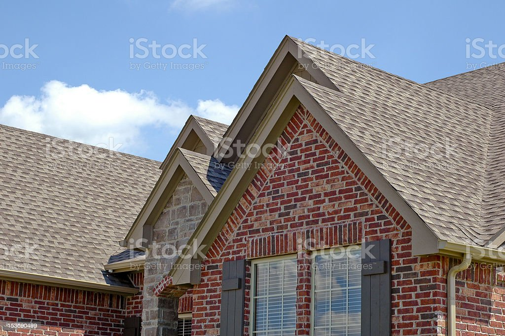 Roof Line royalty-free stock photo