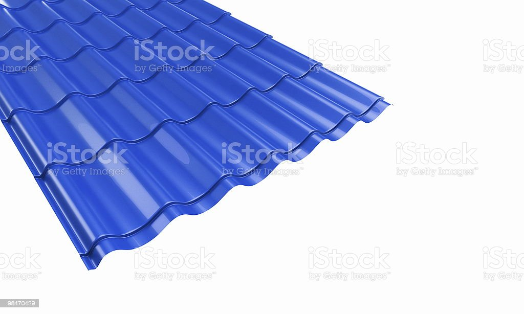 roof metal tile royalty-free stock photo