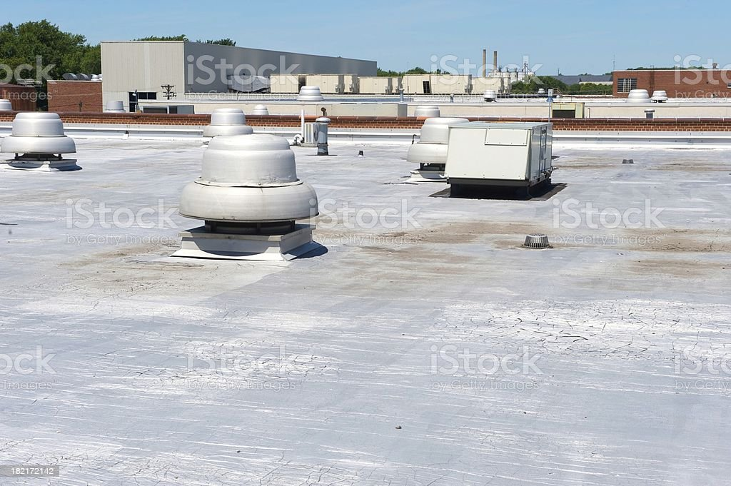 roof of a building royalty-free stock photo