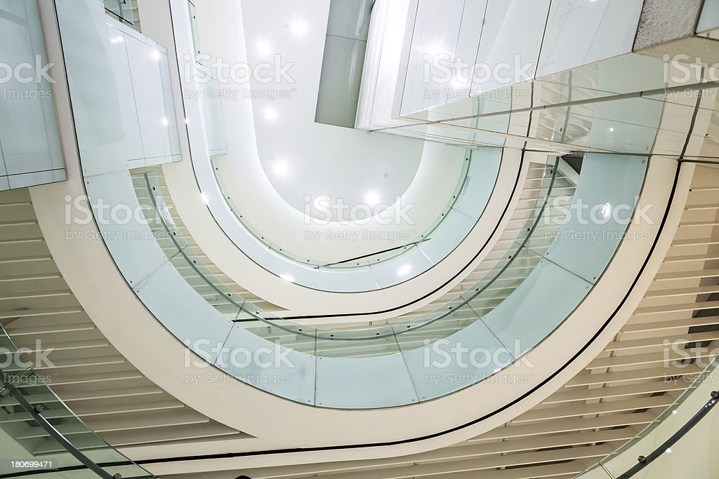 roof of office hall royalty-free stock photo