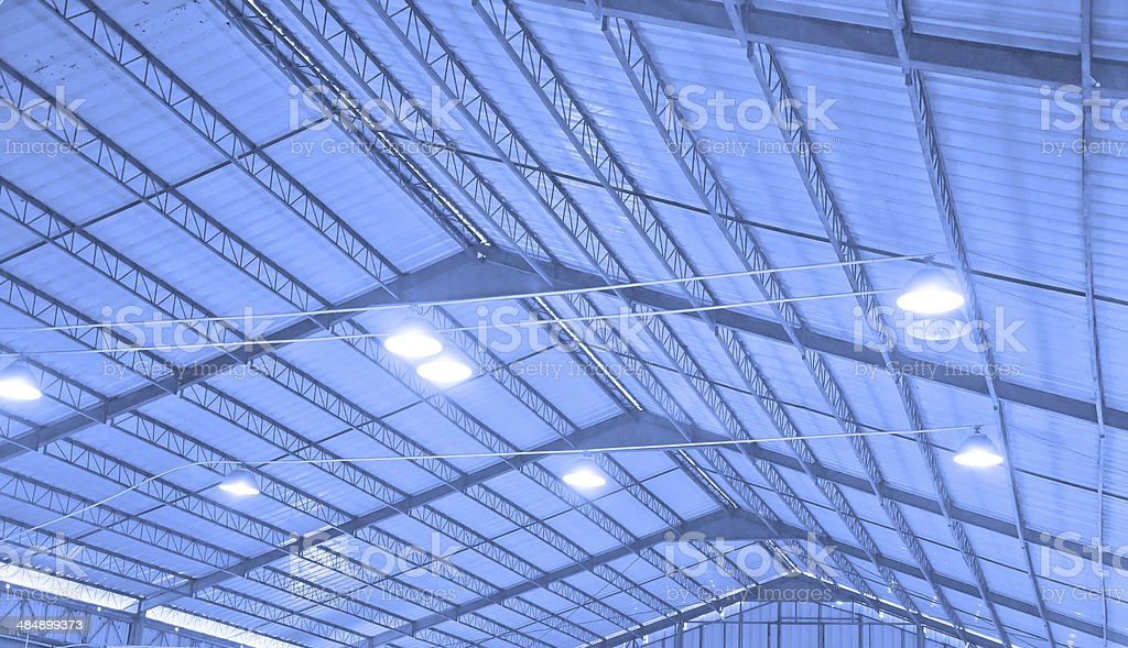 roof of steel stock photo