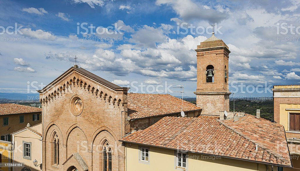 Roof of the Church royalty-free stock photo