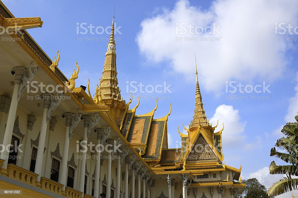 Roof  of throne hall royalty-free stock photo