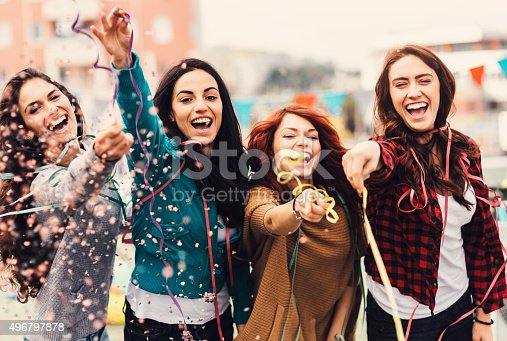 699427744 istock photo Roof party 496797878