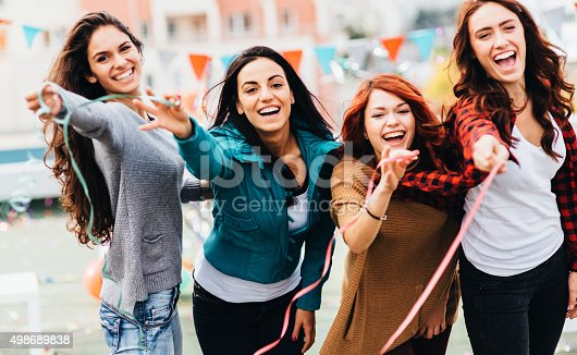 699427744 istock photo Roof party 498689838
