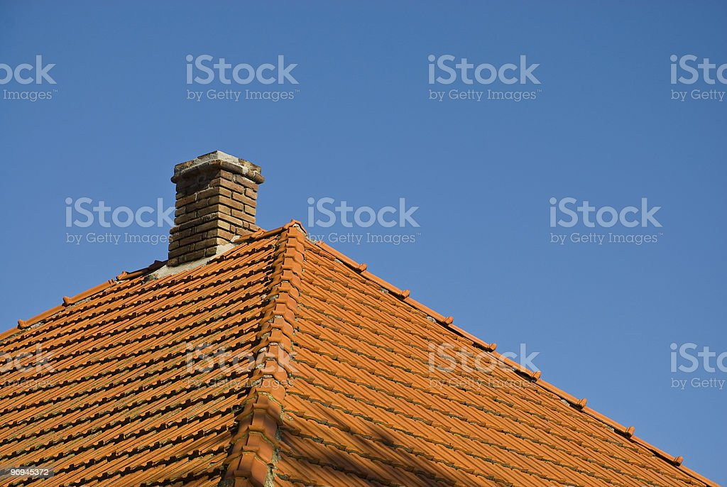 Roof. royalty-free stock photo