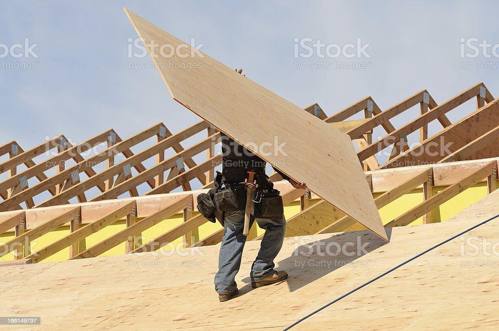 Roof Sheet stock photo
