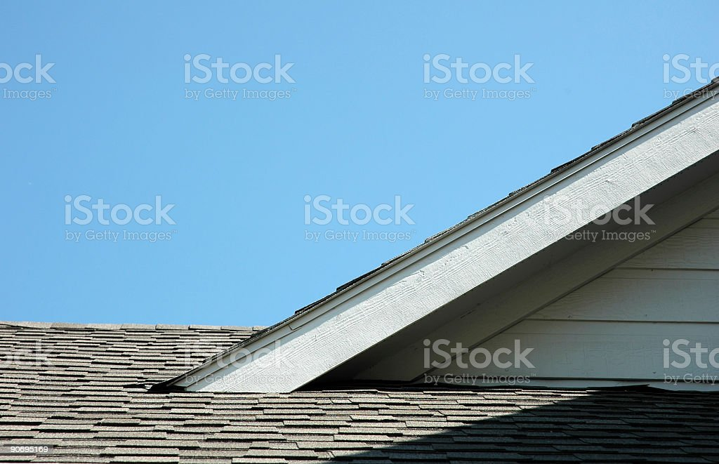 Roof & Sky royalty-free stock photo