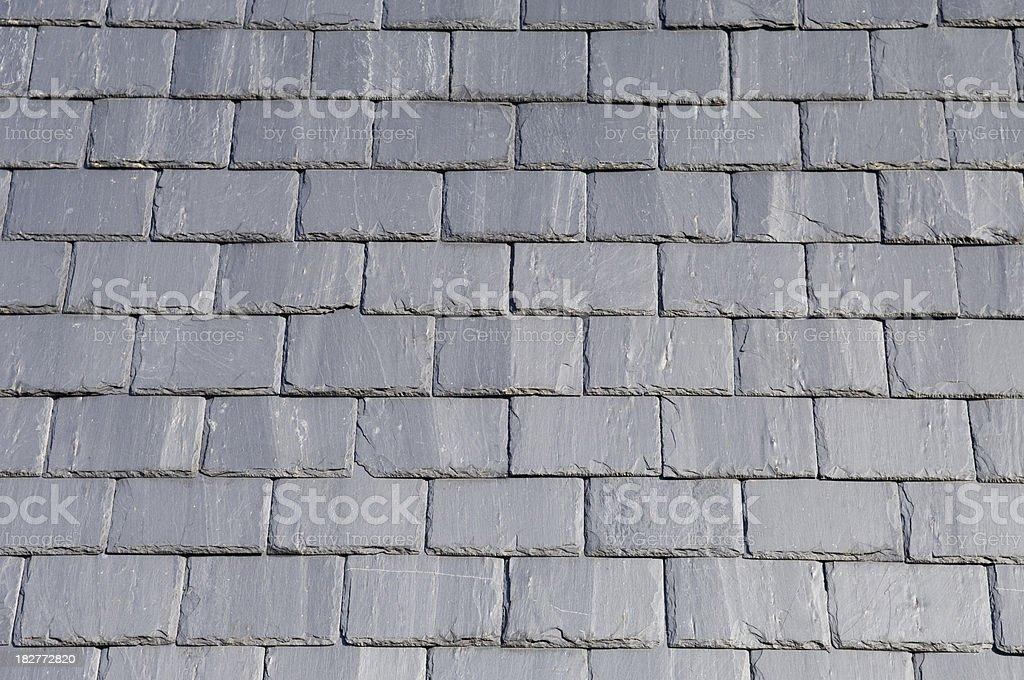 Roof slates royalty-free stock photo