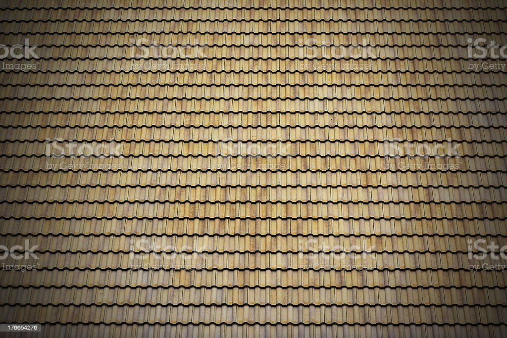 Roof Tile royalty-free stock photo