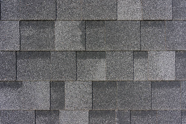 Roof tiles texture stock photo