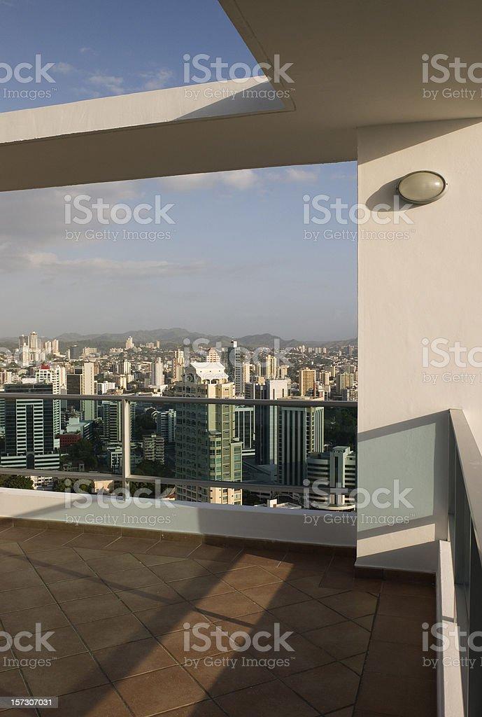 Roof top corner royalty-free stock photo