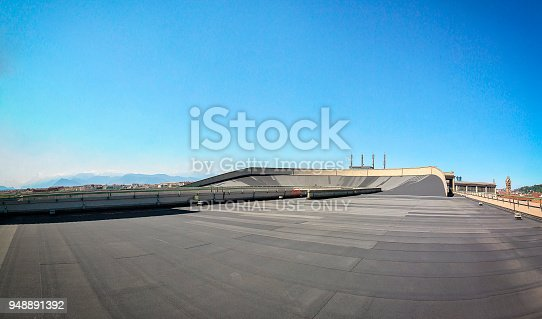 istock roof top race track at lingotto former fiat car factory 948891392