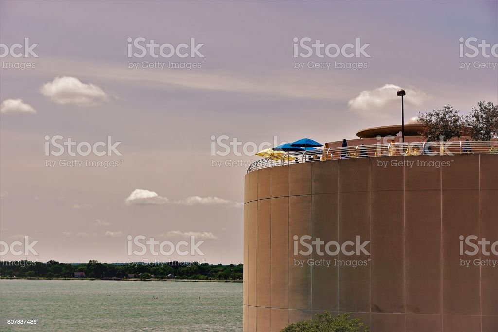 Roof Top Structures stock photo