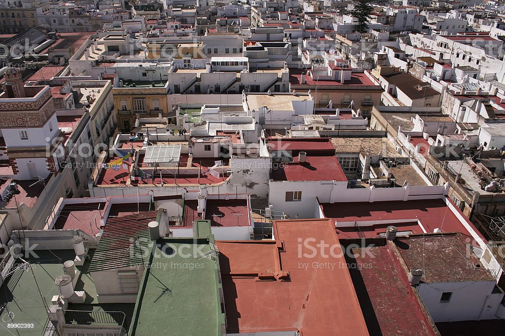 Roof Tops royalty-free stock photo