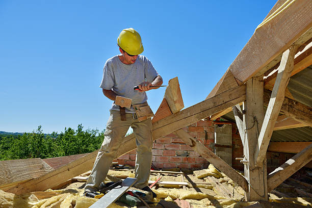 roofer seven stock photo