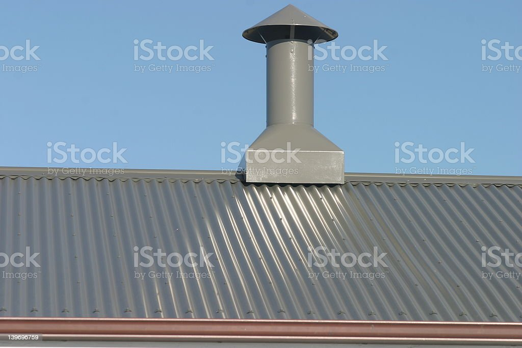 roofing detail stock photo