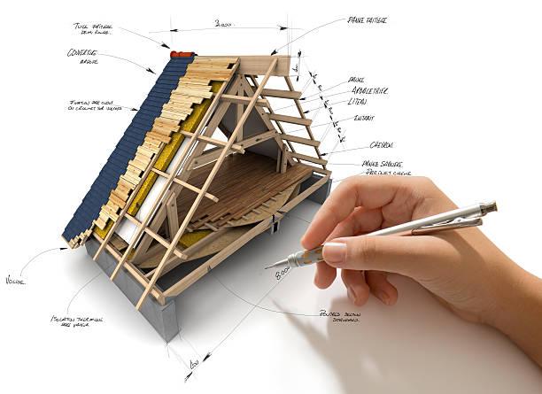 roofing engineering - solar panel bildbanksfoton och bilder
