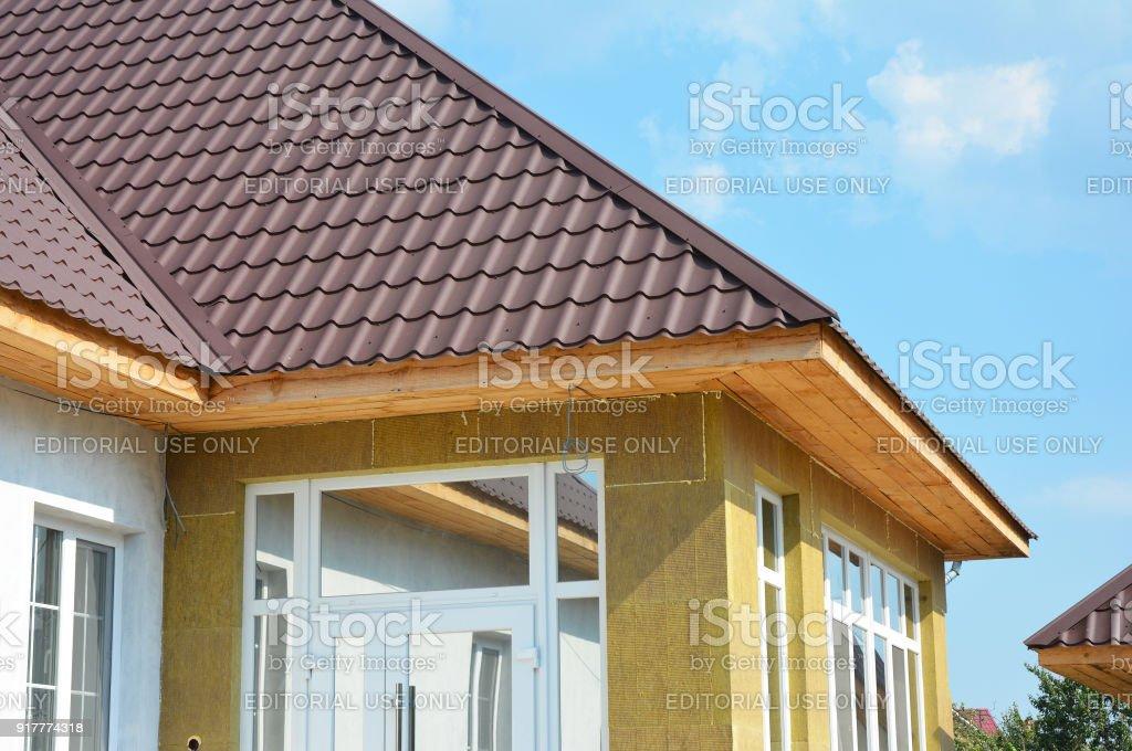 Häufig Dach Haus Und Isolierung Detail Gebäude Wärmedämmung Außen BQ78