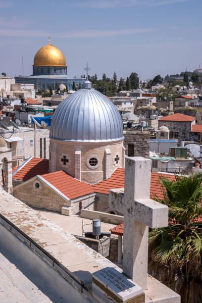Techos de jerusalén - foto de stock