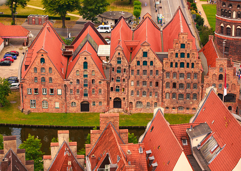 roofs of Lubeck