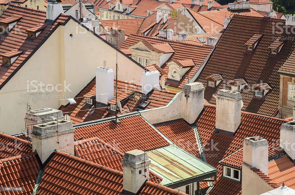 Roofs. royalty-free stock photo