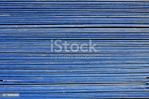 image of blue roof-tile are stacking