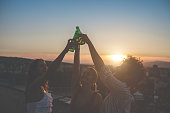 istock Rooftop party 1243079705
