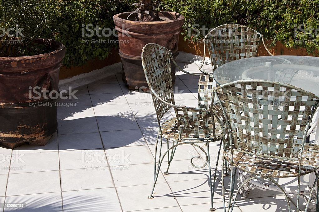 Rooftop royalty-free stock photo