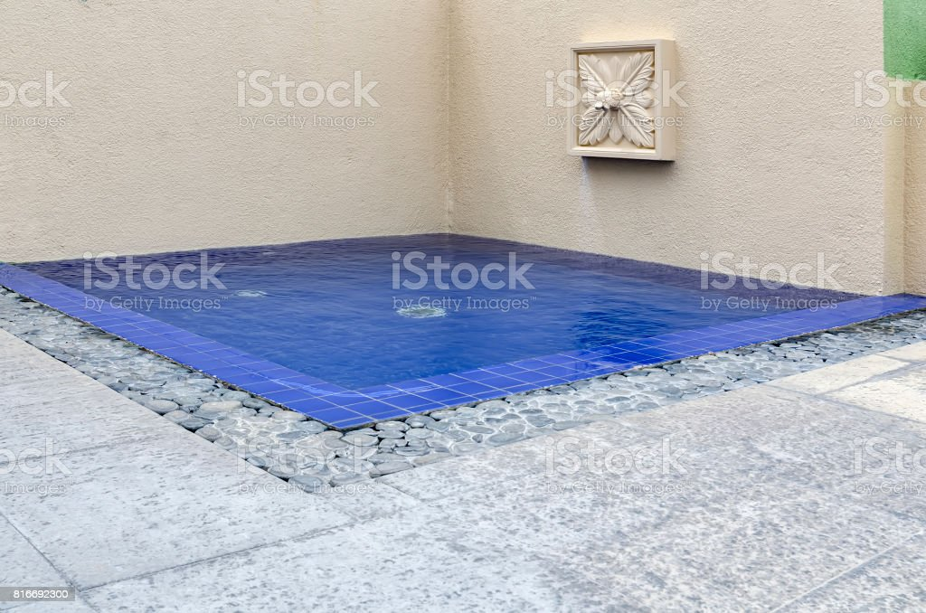 Rooftop Swimming Pool stock photo