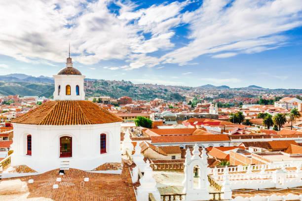 從菲力浦德-玻利維亞的屋頂景觀 - 玻利維亞 個照片及圖片檔