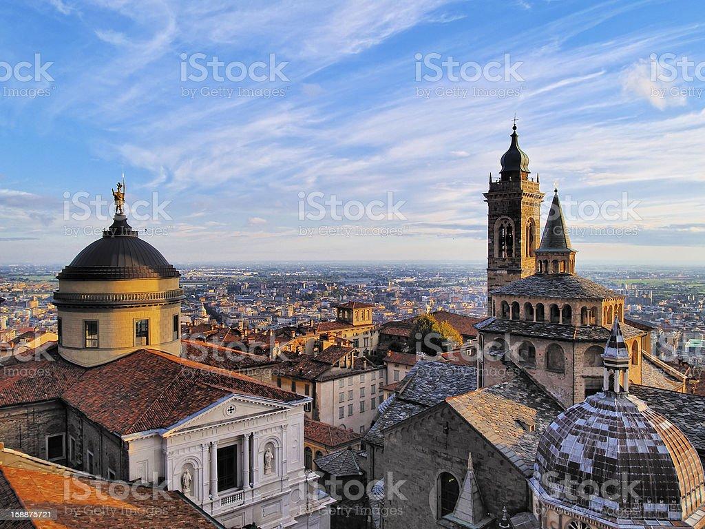 Bergamo - foto de stock