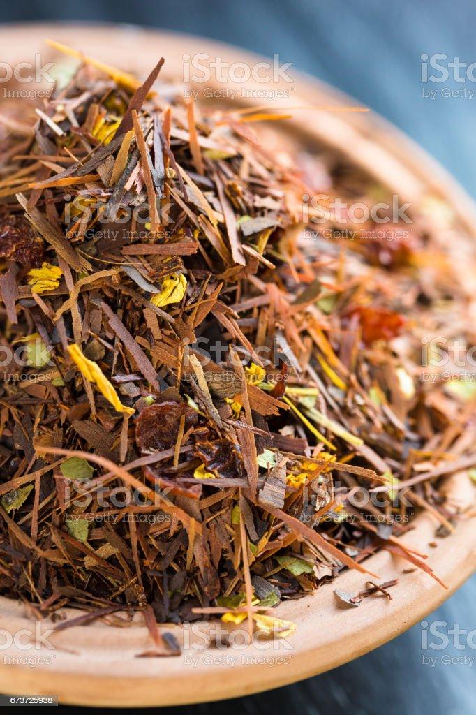 Rooibos tea stock photo
