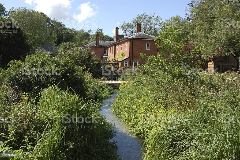 Rooksbury Mill, Andover royalty-free stock photo