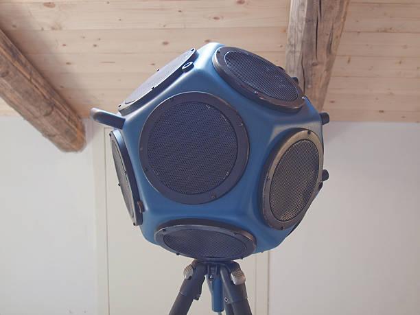 Room acoustics tools stock photo