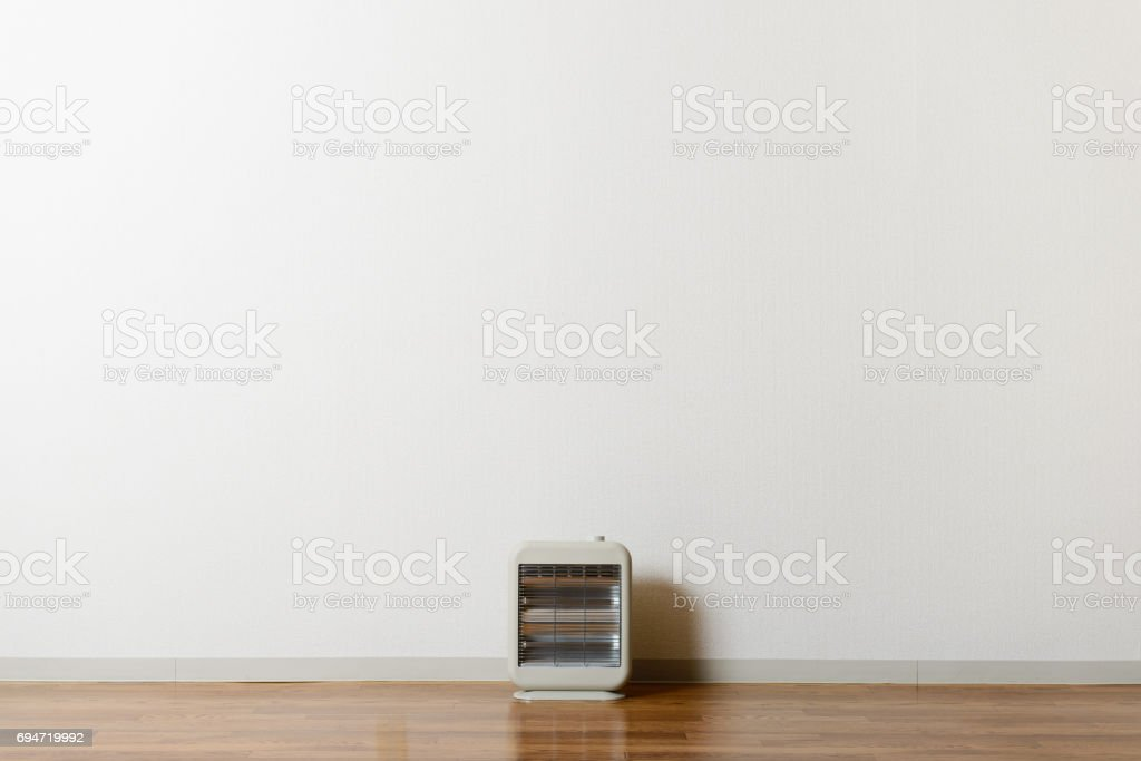 Room and an electric stove stock photo
