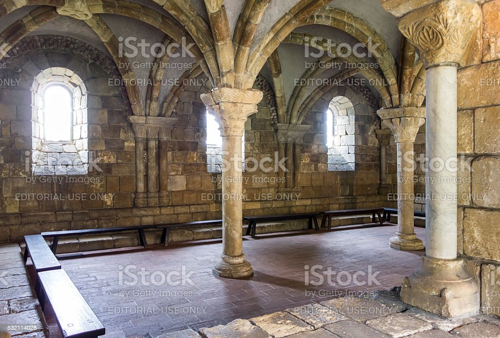 Room At The Cloisters stock photo