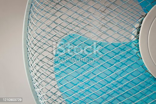 898247654 istock photo Room cooling fan 1210903729