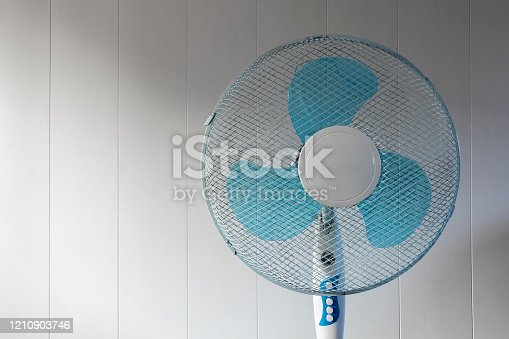 898247654 istock photo Room cooling fan 1210903746