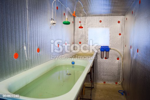 istock A room for growing fish fry. Bath for the fry. A fish-nursery 954827240