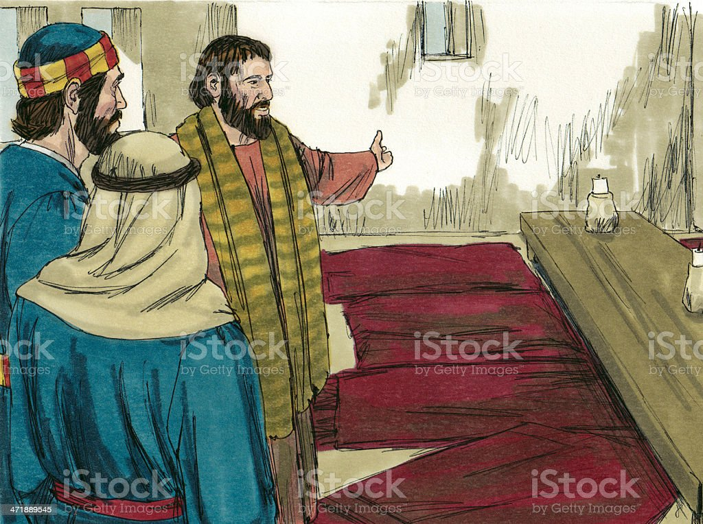 Room for Passover stock photo