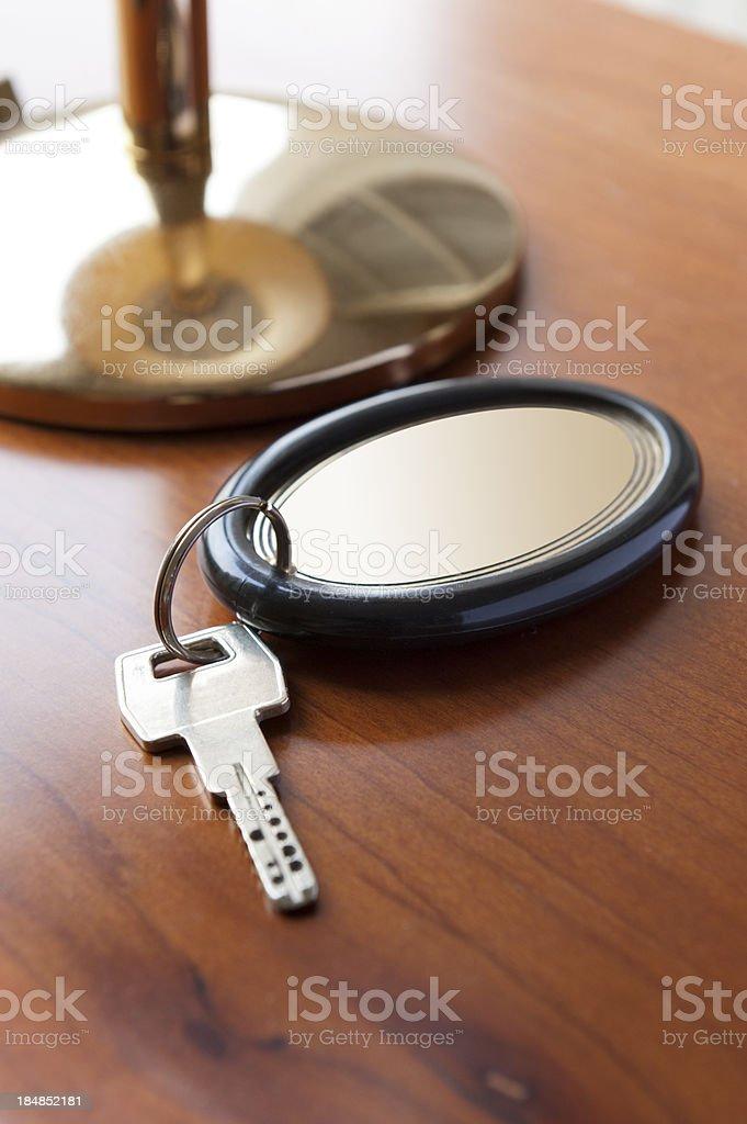 Room Hotel key royalty-free stock photo