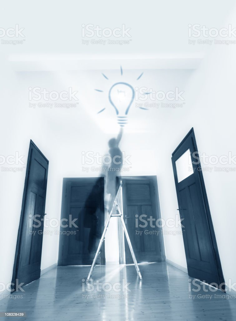 Room Of Ideas royalty-free stock photo