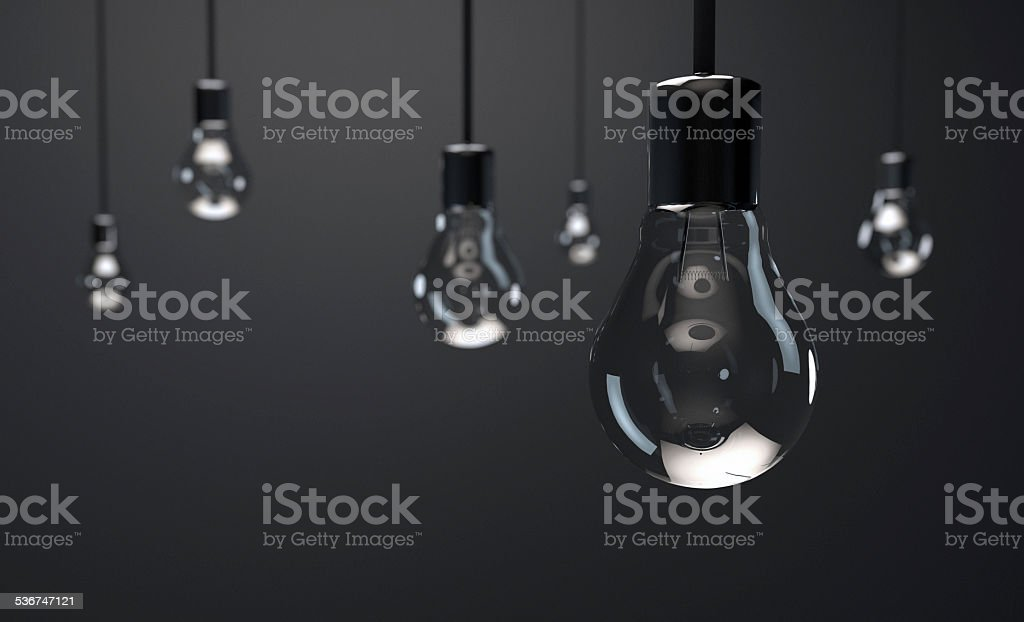 Room of Lights stock photo