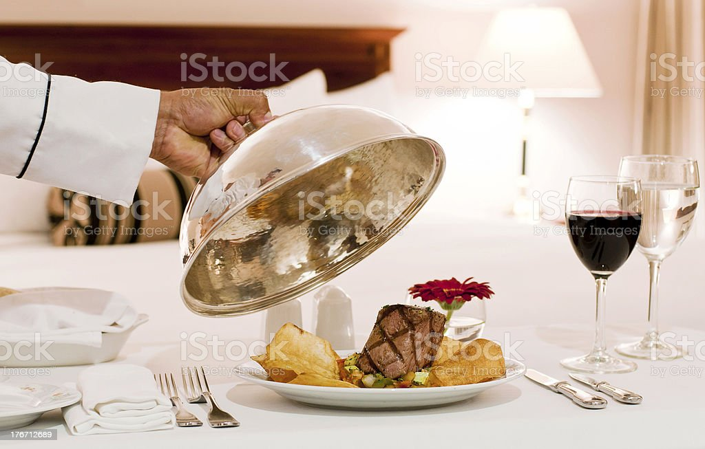 Room service royalty-free stock photo