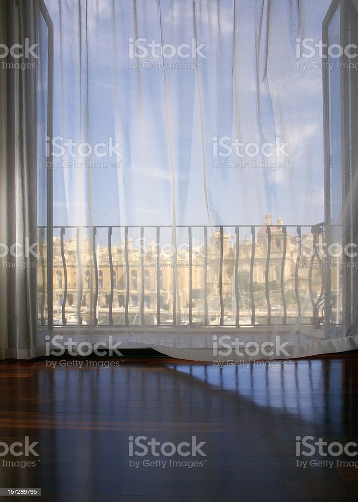 Room With a View. royalty-free stock photo