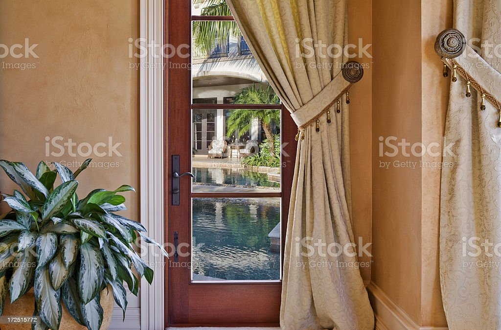 Room with a View royalty-free stock photo