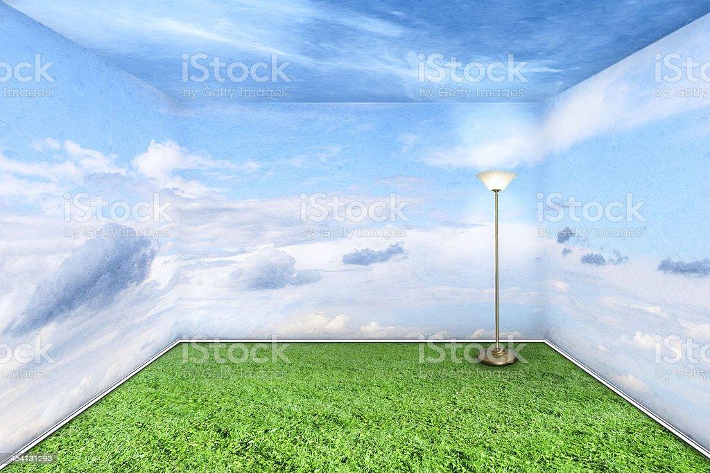 Sala verde - foto stock
